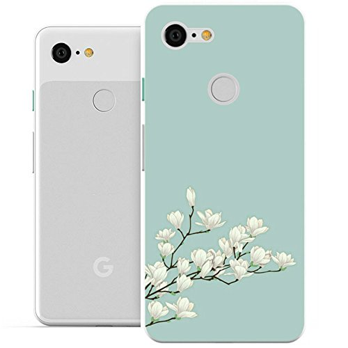 Google Pixel 3 XL Case, Pixel 3 XL Case, [NOT Fit Google Pixel 3],Rnicy Ultra-Thin Full Protection Flexible TPU Soft Cover Case for Google Pixel XL 3 (Magnolia)