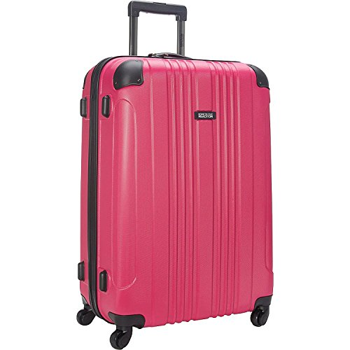 28' Wheeled Suitcase (Kenneth Cole Reaction 28' Let It All Out Luggage, Suitcase in Pink)