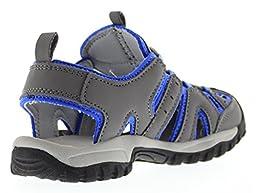 Northside Burke II Athletic Sandal Gray/Blue 6 M US Toddler