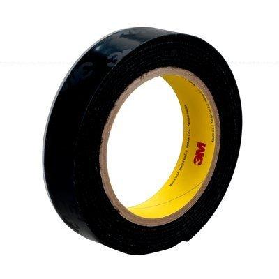 3M(TM) Fastener SJ3531 Loop S030 Black, 1 in x 50 yd 0.15 in Engaged Thickness, 3 per case Bulk ()