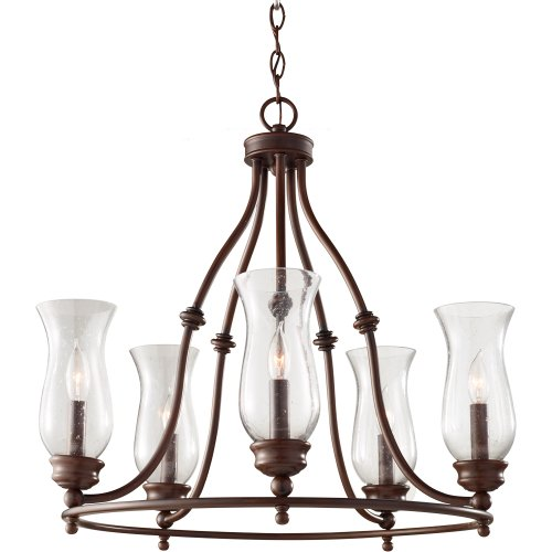 Feiss F2783 5HTBZ Pickering Chandelier product image