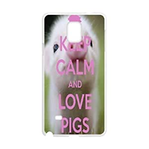 Customized Case Cover for SamSung Galaxy Note4 - pig case 3