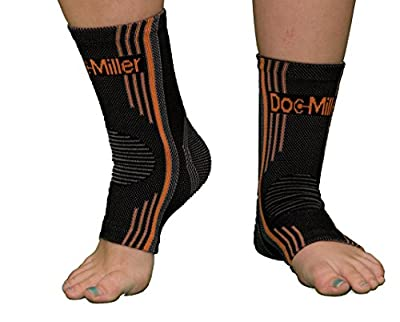 Plantar Fasciitis Open Toe Socks 1 Pair Foot Care Compression Sleeve Achilles Arch & Ankle Support Increases Circulation Eases Swelling Doc Miller