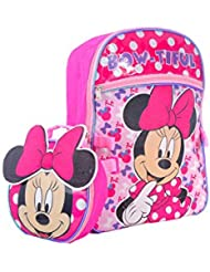 Disney Girls Minnie Backpack with Lunch