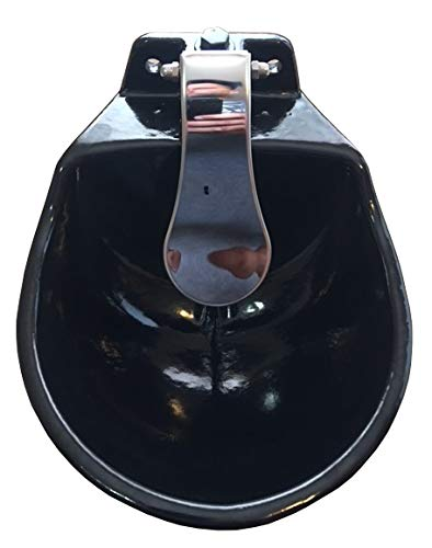 rabbitnipples.com Large Push Paddle Automatic Stock Waterer Made of Cast Iron by rabbitnipples.com