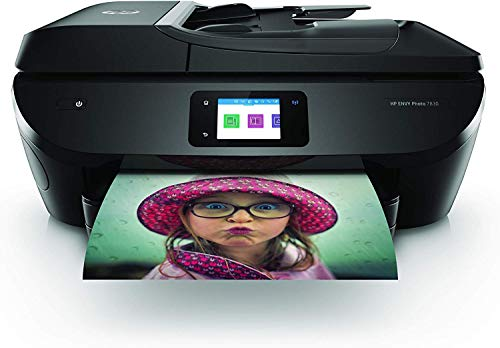 HP Envy Photo 7830 – Impresora multifunción tinta, color, Wi-Fi, Ethernet, compatible con Instant Ink (Y0G50B)