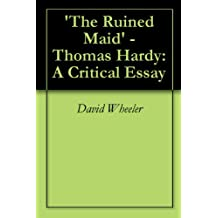 thomas hardy essay john paul riquelme publications and work in progress thomas hardy essay thomas hardy neutral tones