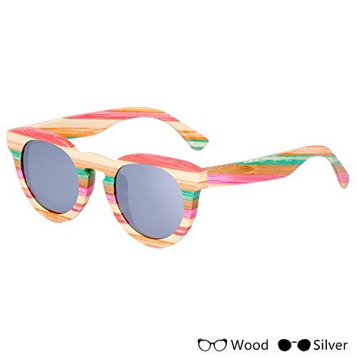 Sol Polarizadas Madera Unisex TIANLIANG04 Unisex Colorido B Modo Acceso Hombres Gafas Pesca Uv400 De Para De F La Gafas tqz0xOrq