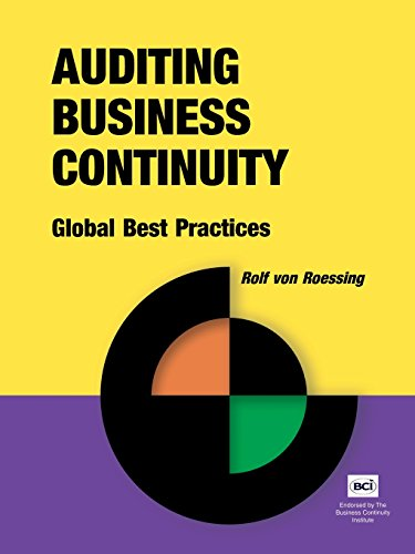 Download Auditing Business Continuity: Global Best Practices (Business Continuity Management) Pdf