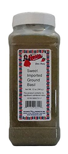 Bolner's Fiesta Extra Fancy Sweet Imported Ground Basil, 12 ()
