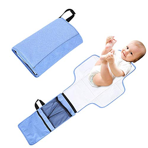 Diaper Changing Pad Covers Portable Travel Diaper Clutch Kit Lightweight Baby Changing Mat Foldable Infant Urinal Pad