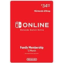 Nintendo Switch Online Family Membership 12 Month - Nintendo Switch [Digital Code]