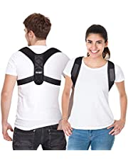 Posture Corrector for Men and Women, Adjustable Upper Back Brace for Clavicle Support and Providing Pain Relief from Neck, Back and Shoulder (Universal)