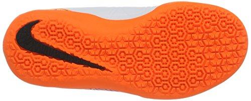 Nike Jr Hypervenomx Phelon Ii Ic, Botas De Fútbol Unisex Bebé Blanco (White / Black-Total Orange-Volt)