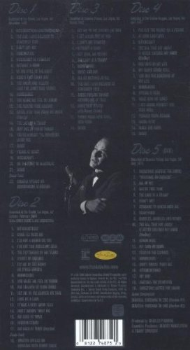 Sinatra: Vegas (Box Set, 4CD/1DVD)