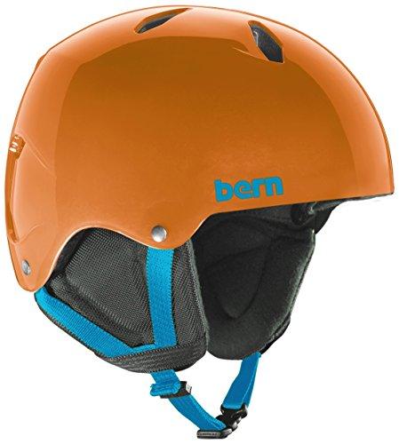 Bern Team Diablo Jr Helmet – Kid's Translucent Orange/Black Liner Large Review