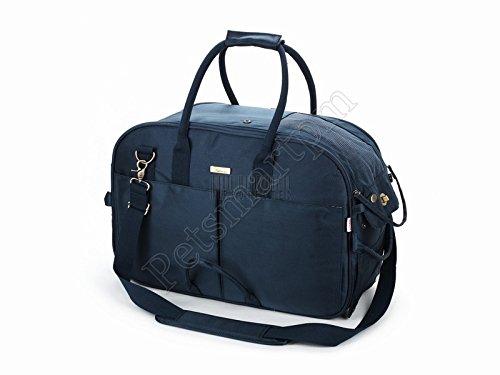 Petsmartpm 188NVL Navy Blue Nylon Dog Carrier Bag Pet Tote Purse Puppy Handbag Cat Cage Doggy Pouch by Petsmartpm