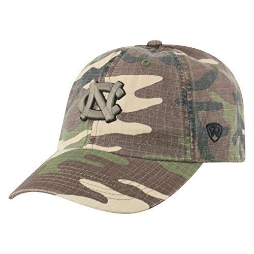 - Top of the World NCAA North Carolina Tar Heels Men's American Hero's Adjustable Icon Hat, Camo