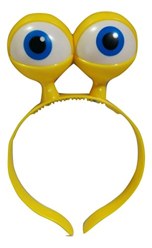 [Light Up Space Alien Eyes Eyeballs Headband Monster Turtle Frog Turbo Accessory] (Costume Eyeball Glasses)