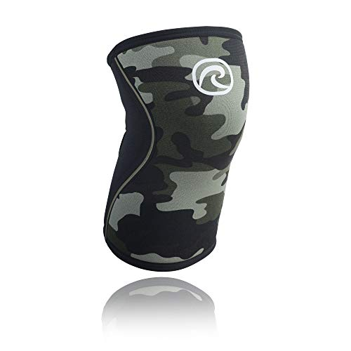 Rehband Rx Knee Support 7751 5mm - Small - Camo - Expand Your Movement + Cross Training Potential - Knee Sleeve for Fitness - Feel Stronger + More Secure - Relieve Strain - 1 Sleeve