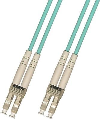 Multimode Duplex 10 Gigabit 10gb Fiber Optic Cable (50/125) - LC to LC