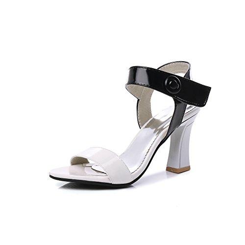 Blanco Sint�tico Unbekannt Vestir Sandalias De Mujer Para fttWqYgZw7
