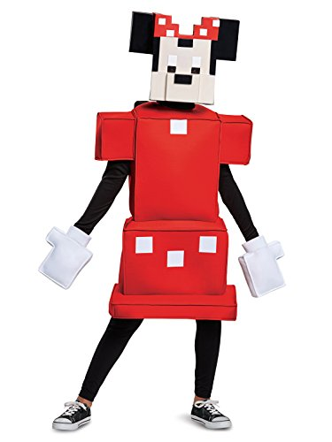 Minnie Mouse Crossy Roads Classic Costume, Red, Medium (7-8) -