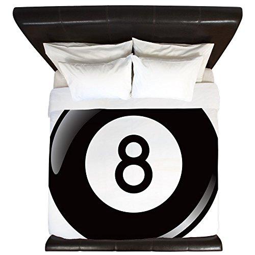New King Duvet Cover 8 Ball Pool Billiards