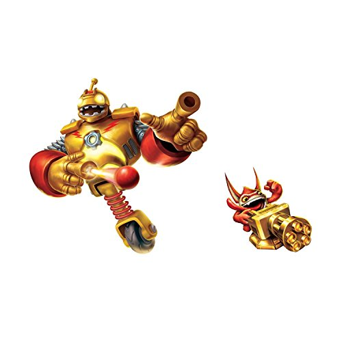 Roommates Rmk2288Gm Skylanders Giants Bouncer, Trigger Happy Peel And Stick Giant Wall Decals
