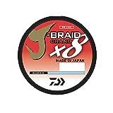 Daiwa JBGD8U100-3000IB J-Braid Grand 8X Bulk Spool 3000yds 100 lb. Test Fishing Line, Island Blue