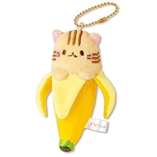 Bananya Plush Collection - Bananya Mascot Ball Chain (Tora ()