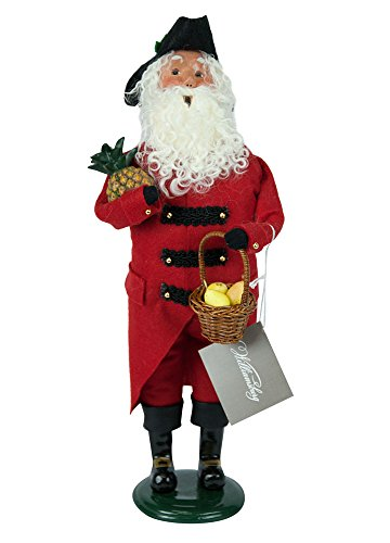Byers' Choice Colonial Grandfather Red/Black #5186