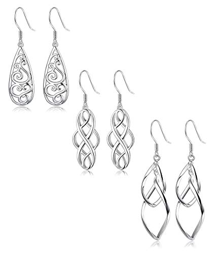 3 Dangle Earrings Jewelry - 5