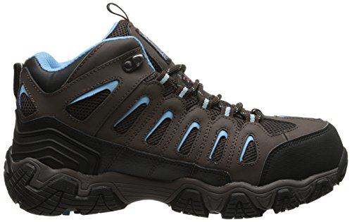 Skechers Work Blais-EBZ Steel-Toe Hiking Shoe White