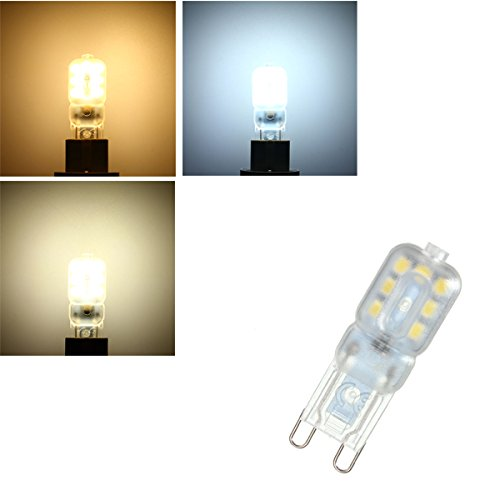 Lights & Lighting - G9 3w 14 Smd 2835 Led Pure White Warm White Natural White Light Lamp Bulb Ac110v Ac220v - G9 Light Bulb 60 Watt Led 40 Dimmable (Charles Bathroom Vanity Light)