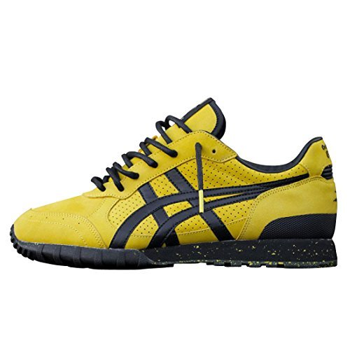 Suit Limited Edition - Bait x Bruce Lee x Onitsuka Tiger Men Colorado 85 - Legend Limited Edition Sneakers (10.5 D(M) US, Yellow)