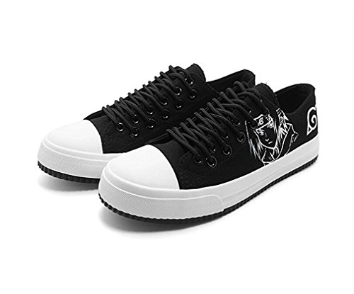 Bromeo Naruto Unisexo Bajo-Top Zapatillas de lona Trainers Zapatos Shoes
