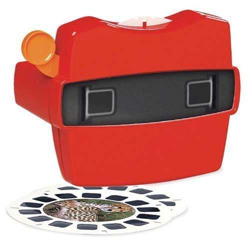 VIEW-MASTER DISCOVERY KIDS Dinosaurs Marine Safari Animals Viewer & 3D Reels Box For Ages 3+ by View Master (Image #1)