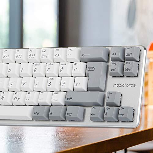 a780b8f27b6 Qisan Mini 69 Keys(60%) Wired Keyboard Mechanical Gaming Keyboard PBT  Keycps Gateron