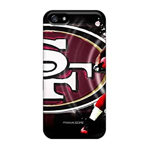 GAwilliam Iphone 5/5s Hybrid Tpu Case Cover Silicon Bumper San Francisco 49ers