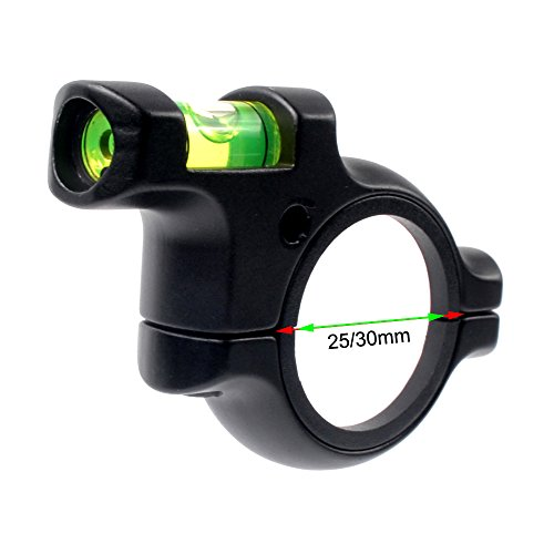 JIALITTE Rifle Scope Bubble Level for 1in / 30mm Tube Riflescope For Precision Shooting, Competition and (Scope Leveler)