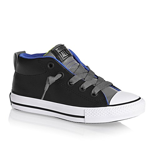 Chuck Black High bambini Scarpe per Leather Toddler Charcoal Converse Star All Taylor Top adxqZgq
