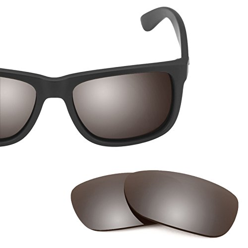 Opciones para 54mm Flash Justin múltiples Mirrorshield Polarizados de Bronce RB4165 Elite Ray — repuesto Ban Lentes YzqO1S