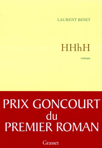 HHhH French Edition