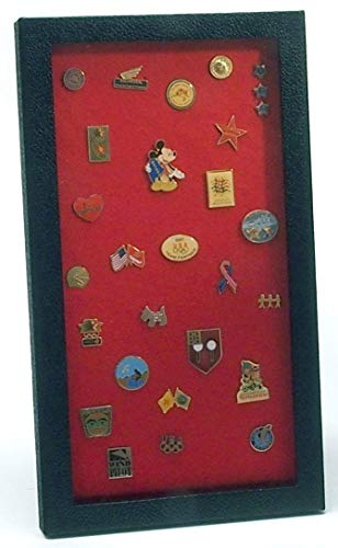 flag connections Pin Collector's Display Case - for