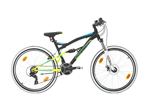 🥇 Bikesport Parallax Bicicleta De montaña Doble suspensión 26 Ruedas
