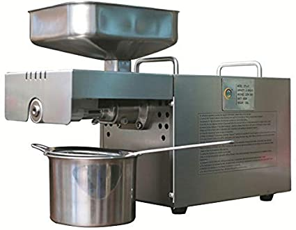 Small Automatic Oil Press Home Small Oil Press Machine Long Performance Life Business & Industrial