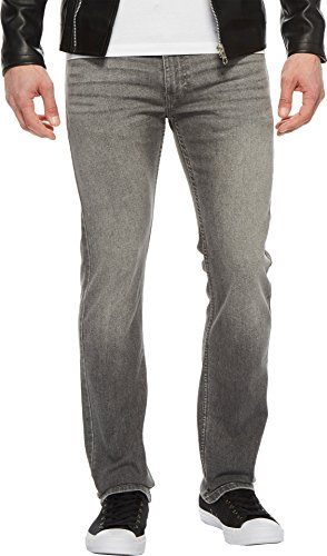 Levi's Men's 513 Slim Straight Jean, Tin Man-Stretch, 33W x 34L (Straight Tin)
