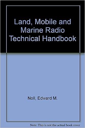 Book Landmobile and Marine Radio Technical Handbook