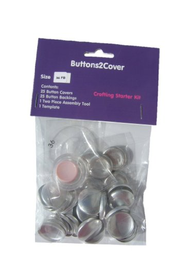 Compare price to fabric covered buttons upholstery for Dritz craft cover button kit size 36